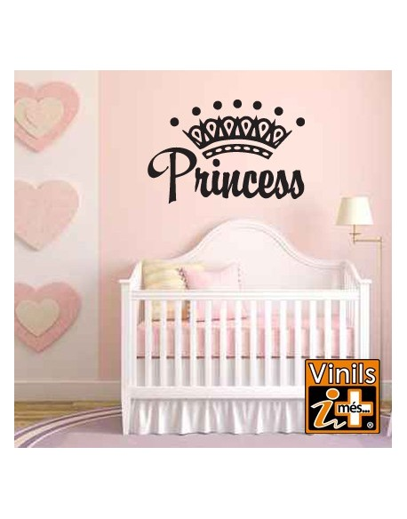 VINILO PARED NOMBRES PRINCESS