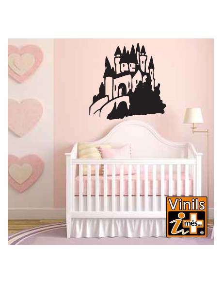 VINILO PARED INFANTIL CASTILLO