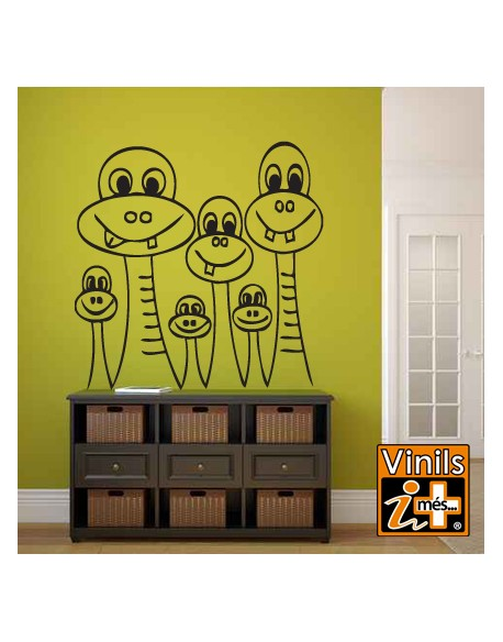 VINILO PARED INFANTIL MONSTRUOS