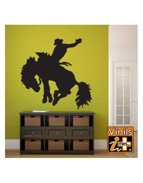 VINILO PARED NATURALEZA COWBOY