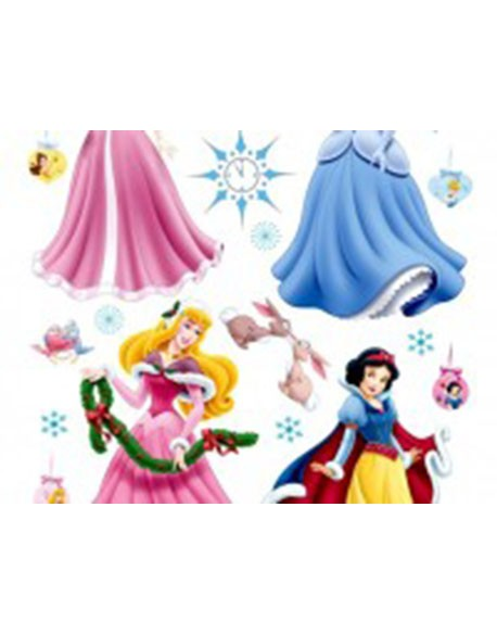 Sticker Disney Princess New Year