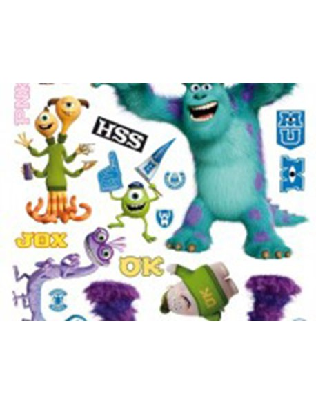 Sticker Disney Monters