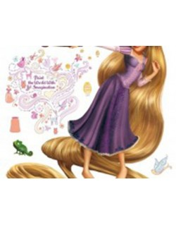 Sticker Disney Rapunzel And...