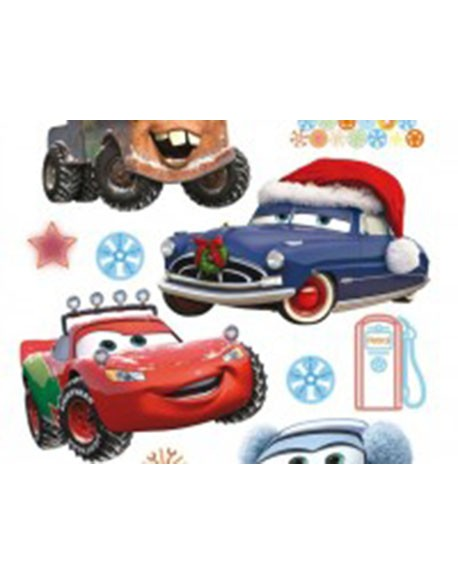 Sticker Disney Cars New Year