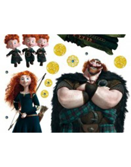 Sticker Disney Brave