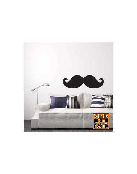 VINILO PARED RETRO BIGOTE