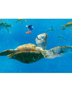 Fotomural Big Turtle With...